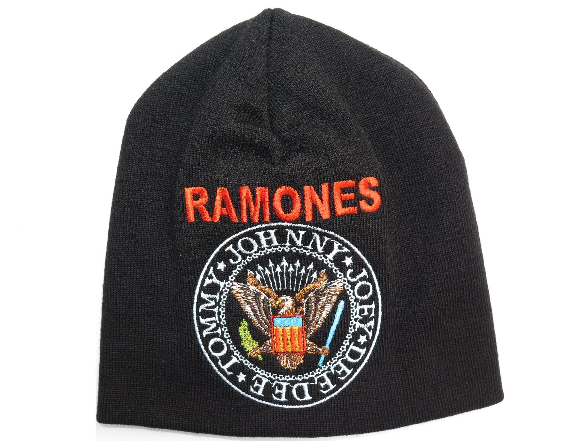 RAMONES Crest Winter Wool Beanie Hat BNWT - A Patch E Store