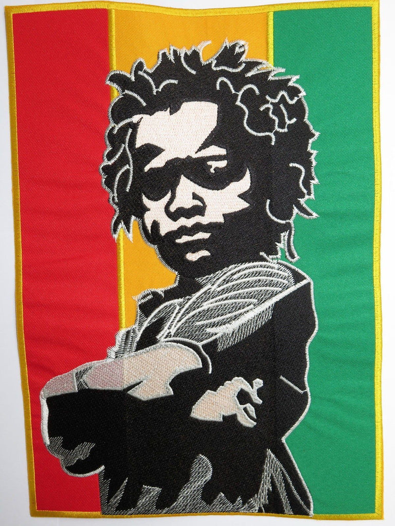 "Rasta Baby Reggae Flag Big Embroidered Back Patch 11.2""/28.8cm - A Patch E Store"