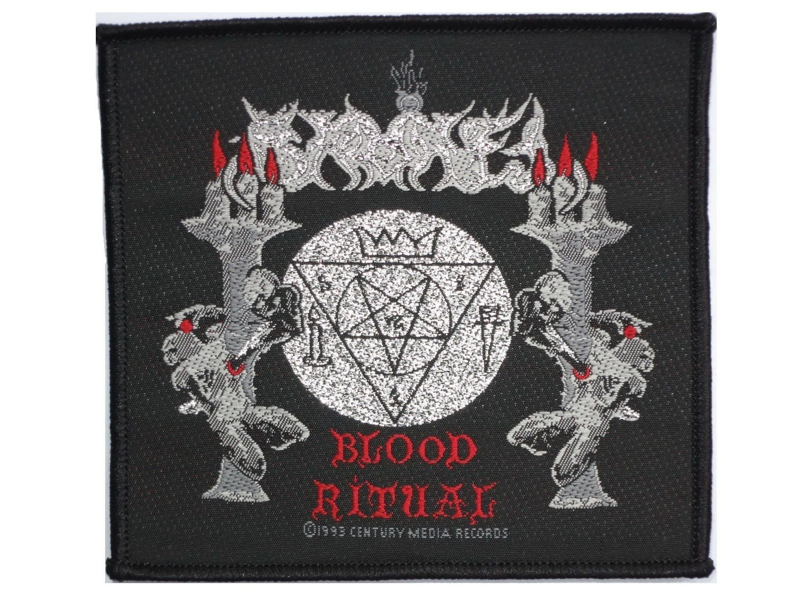SAMAEL Blood Ritual Metal Sew On Woven Patch - A Patch E Store