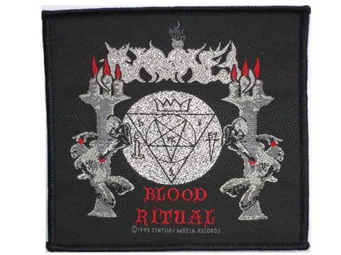 SAMAEL Blood Ritual Vintage Metal Sew On Woven Patch