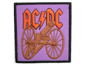 ACDC AC/DC Rock Canon Sew On Embroidered Patch - A Patch E Store