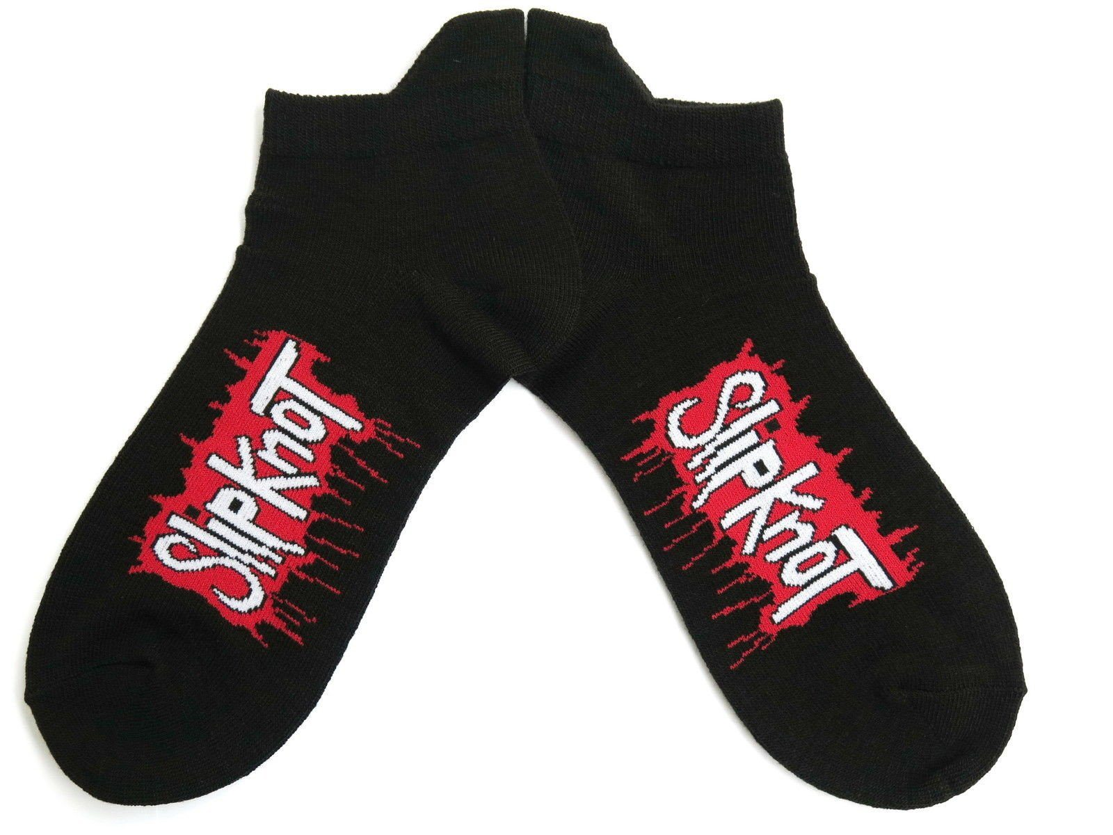 SLIPKNOT Blood Drip Logo Mens Ladies Unisex Ankle Socks - A Patch E Store