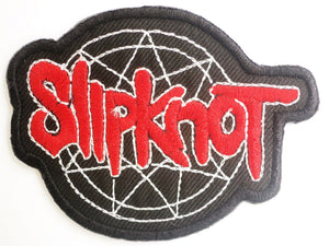 "SLIPKNOT Pentagram Iron On Sew On Embroidered Patch 3""/7.8cm - A Patch E Store"