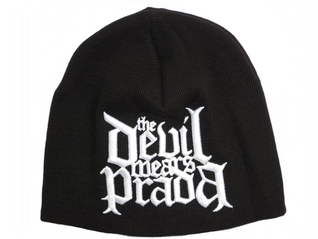 THE DEVIL WEARS PRADA Logo Winter Wool Beanie Hat - A Patch E Store