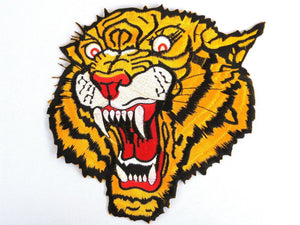 "TIGER Growl Biker MMA Giant Back Patch 8""/20cm - A Patch E Store"