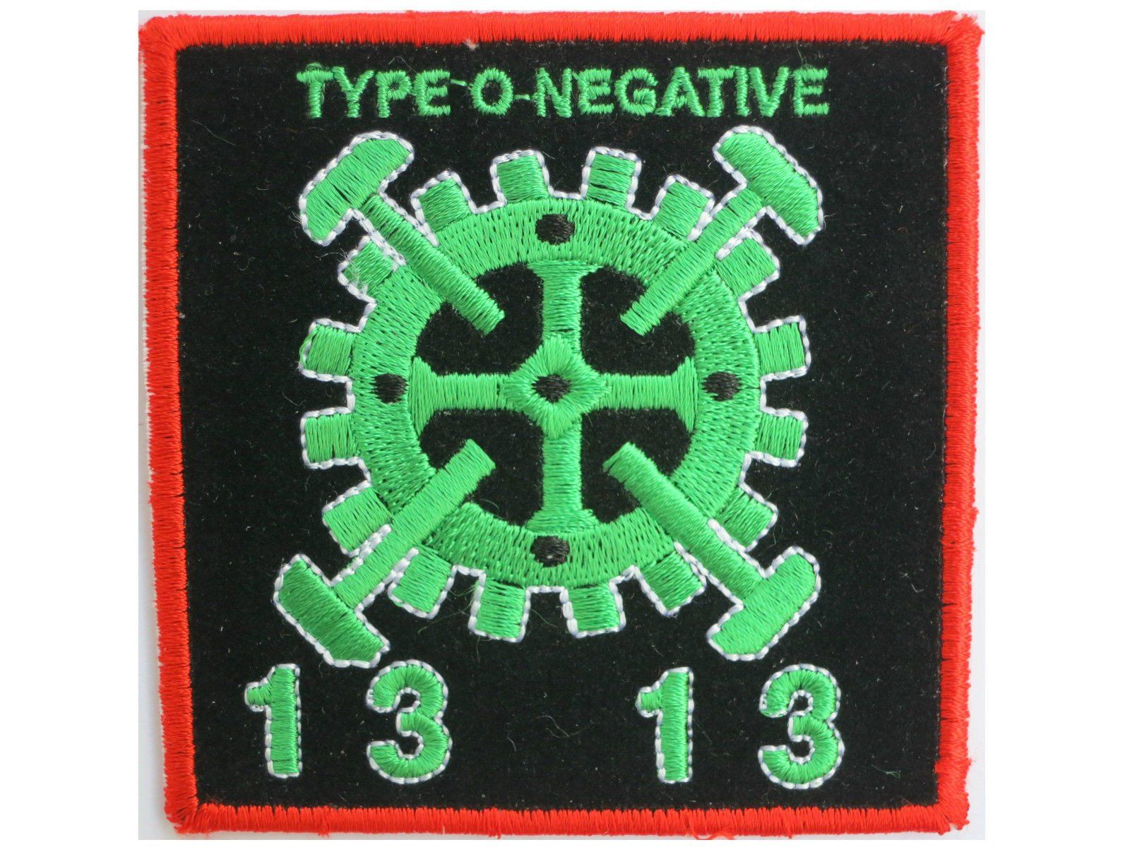 "TYPE O NEGATIVE TON 13 Gears Sew On Embroidered Patch 3.1""/8cm - A Patch E Store"