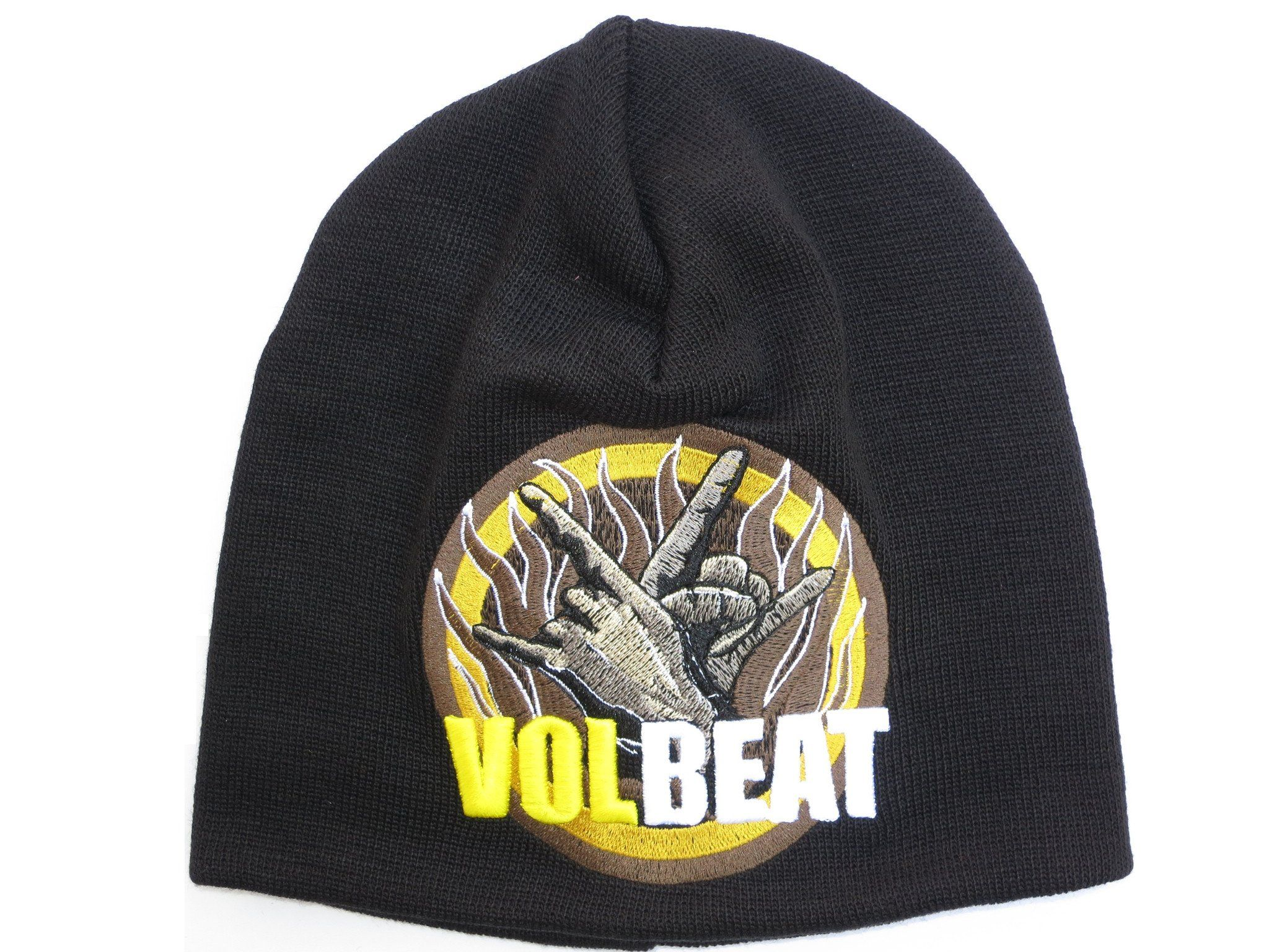 VOLBEAT Metal Horns Winter Wool Beanie Hat BNWT - A Patch E Store
