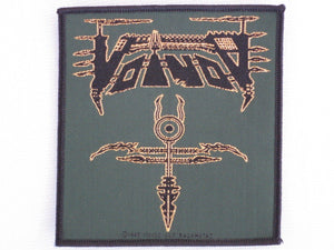 VOIVOD Heavy Metal Sew On Woven Patch - A Patch E Store