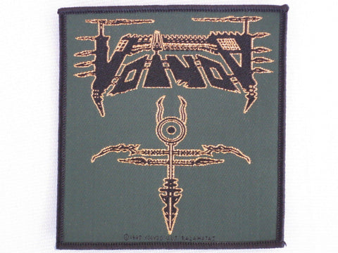 VOIVOD Vintage Heavy Metal Sew On Woven Patch