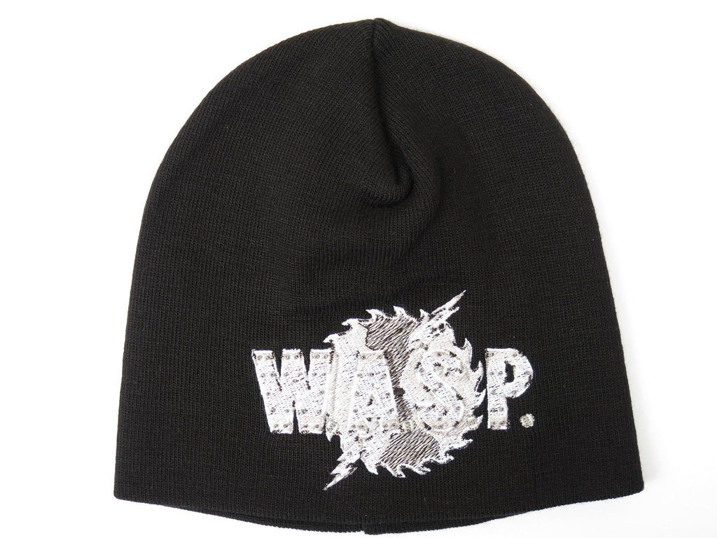 WASP Logo W.A.S.P Winter Wool Beanie Hat BNWT - A Patch E Store