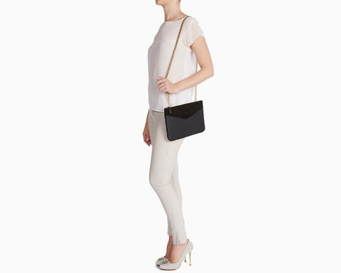 The Grace clutch and cross-body bag