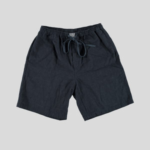 Throw Shorts - Navy Linen