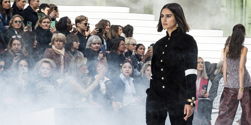 Plus-size model walks the Chanel runway at Paris Fashion Week