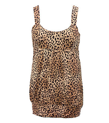 Lace Leopard Hot Tank
