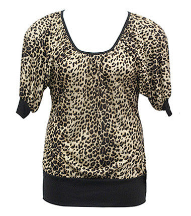 Loose Leopard Blouse