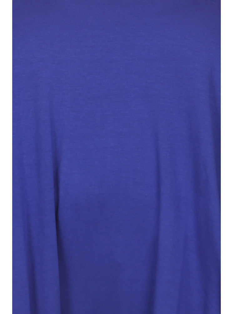 Plus Size Let's Go Out Blue Top