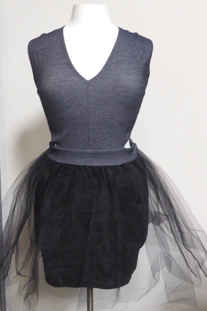 Plus Size Glamorous Tulle Dress