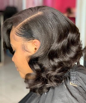Body Wave 360 Lace Frontal Wig Pre Plucked