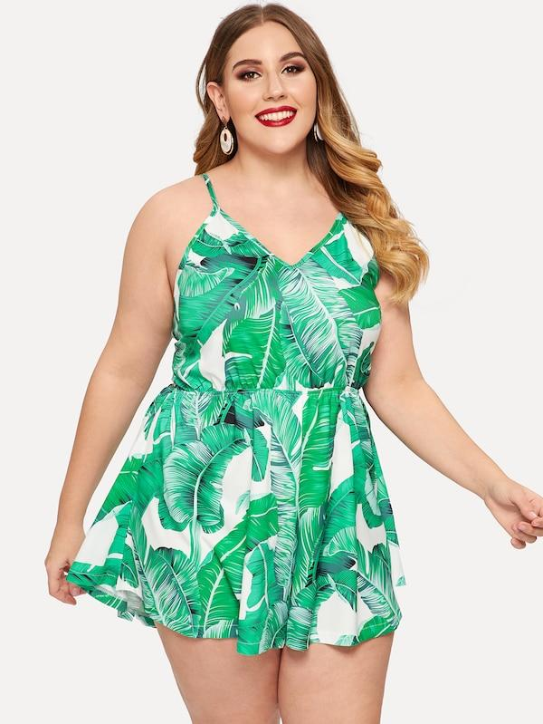 8bf03ee8a832e Shop Plus Size Rompers   Jumpsuits − PLUSSIZEFIX – tagged