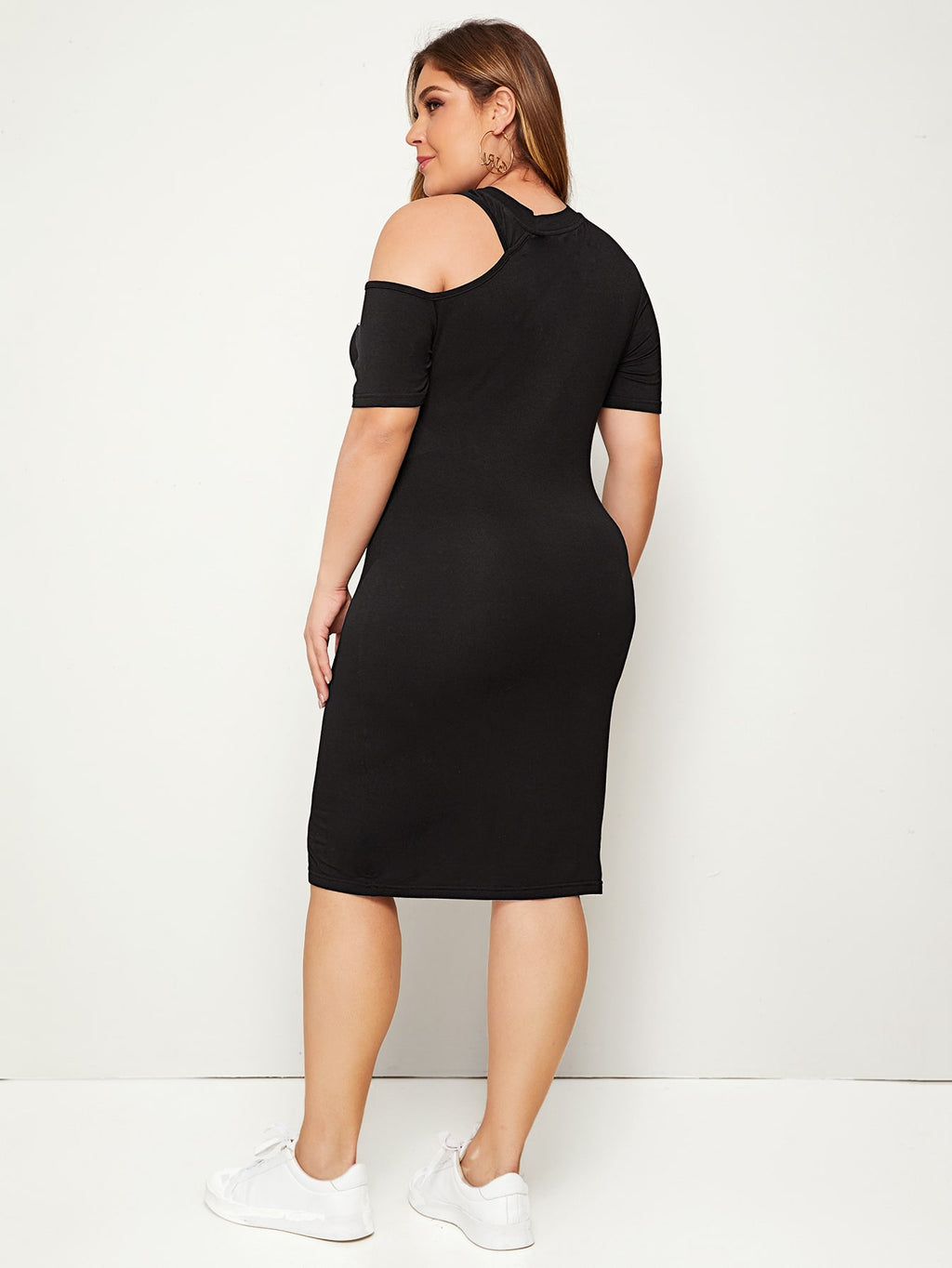 Plus Size Asymmetrical Los Angeles New York Dress