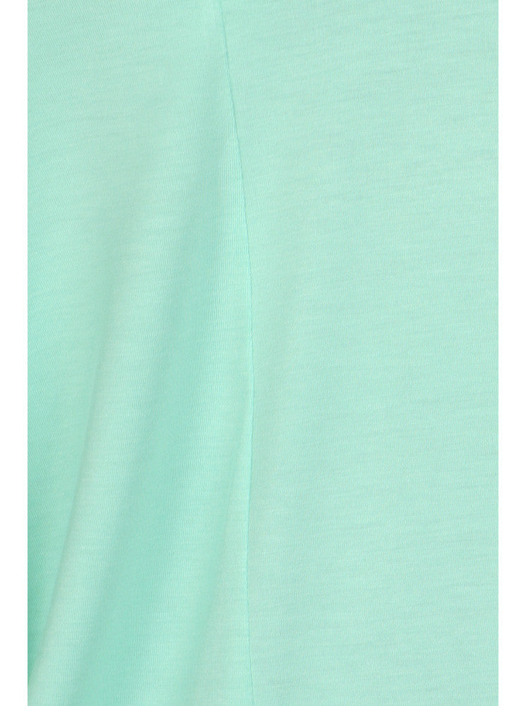 Plus Size Essential Off The Shoulder Mint Top