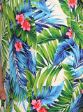 Plus Size Tropical Heaven Blue Dress