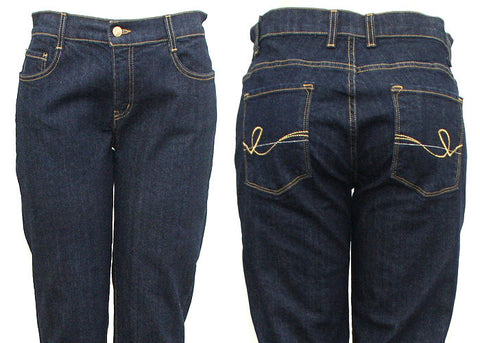 Back Pocket Stitch Jeans