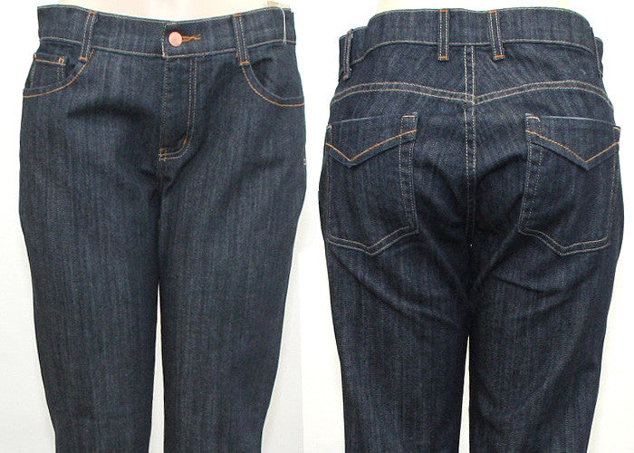 Diva Back Pocket Slim Jeans