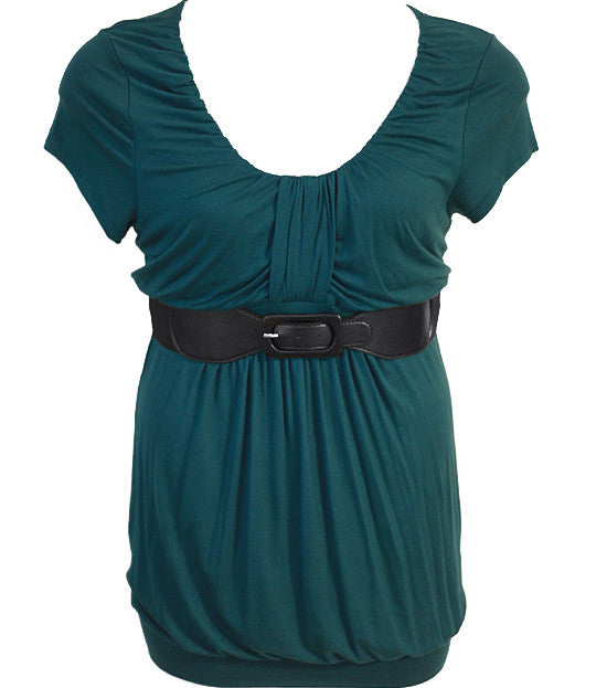 Plus Size Fabulous Diva Belt  Teal Top