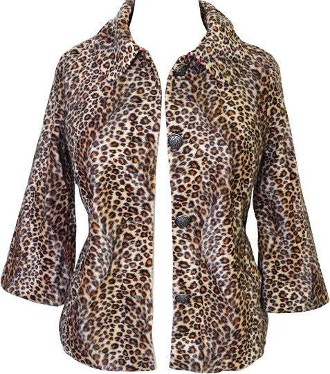 Leopard Fur Diva Coat