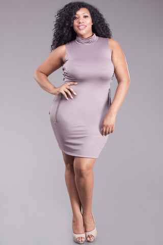 Next Level Hot Lace Plus Size Bodycon Dress