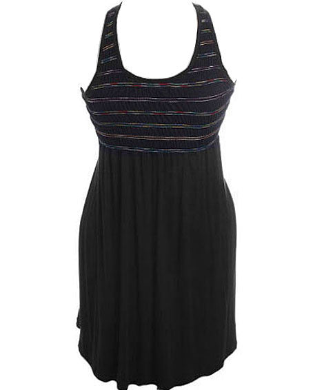 Plus Size Summer Tank Stretchy Dress