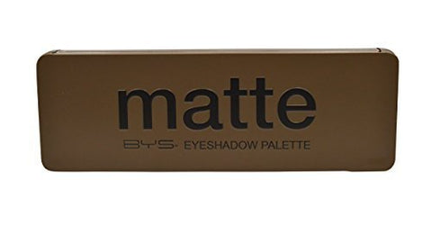 Matte Eyeshadow Palette Tin with Mirror