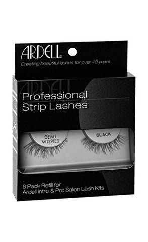 Natural Lashes, Demi Wispies Black, 6-Count
