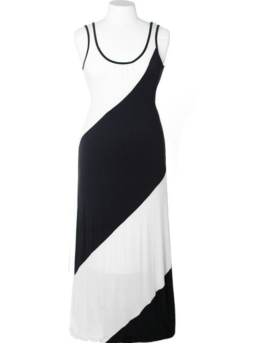 Plus Size Sexy Summer Maxi Dress