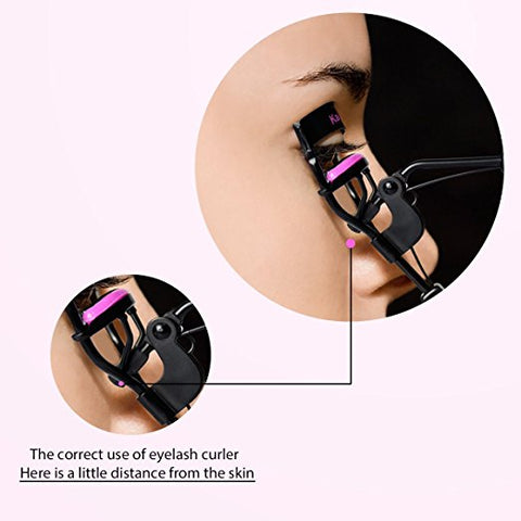 Eyelash Curler With advanced Silicone Pressure Pad
