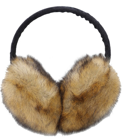Vogueearth Women 2 Material Choose Winter Fur Earmuffs