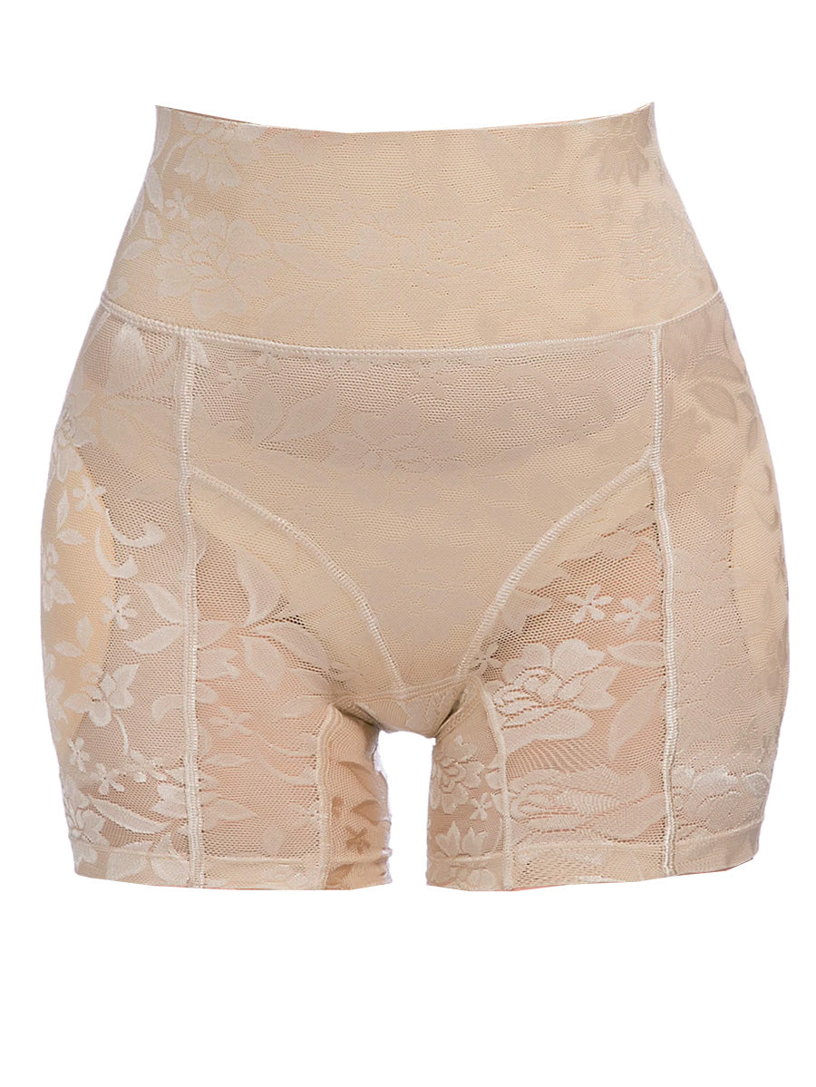 Plus Size Size Lace Shapewear Shorts