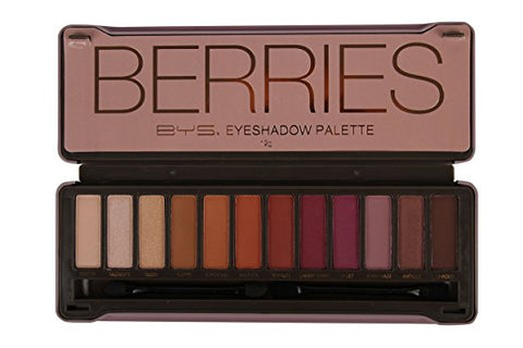 Berries Eyeshadow Palette Tin with Mirror