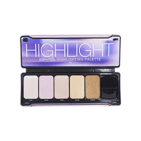 Highlight Palette with Contour Brush and Mirror