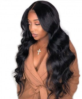 Body Wave 150% Brazilian Human Virgin Hair Wigs 13x6