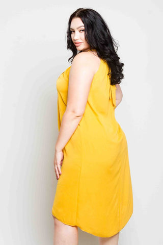 Plus Size Halter Dress