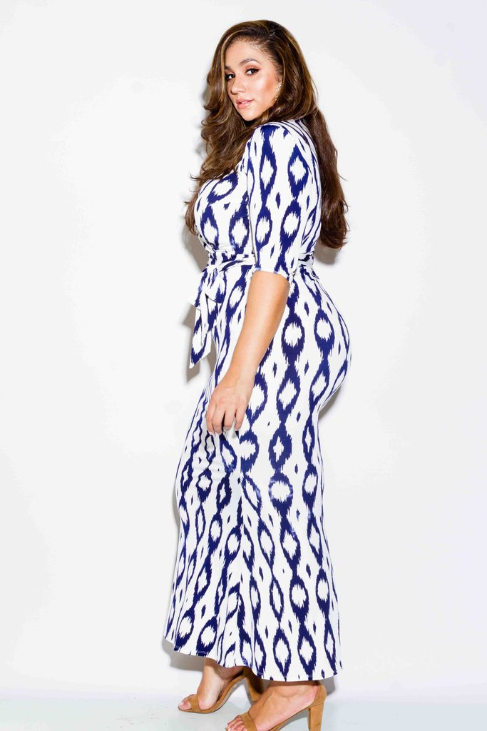 Plus Size Showstopper Mermaid Maxi Dress