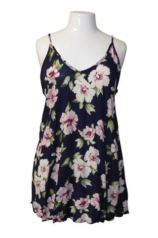 Plus Size Pretty Floret Shift Frock Dress [SALE]