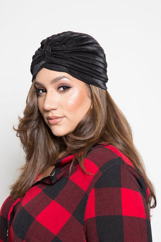 Metalic Fashion Headwrap
