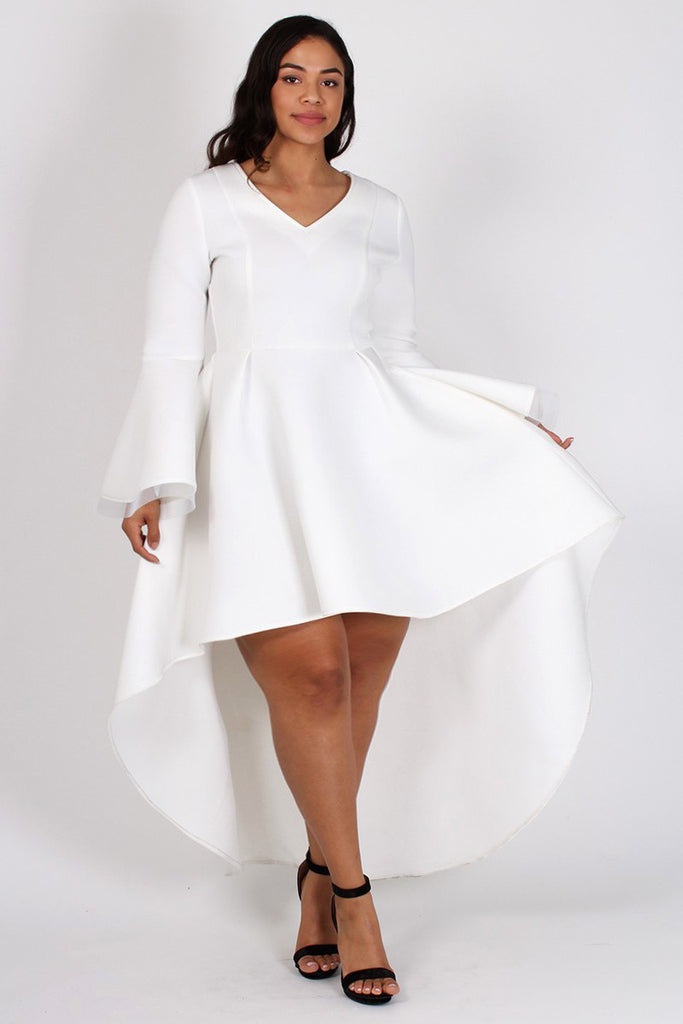 Plus Size Dresses With Bell Sleeves Erkalnathandedecker