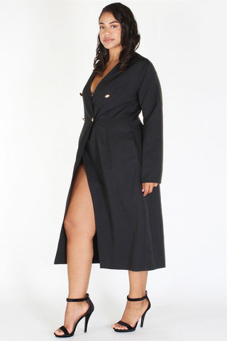 Plus Size Sexy Blazer Night Out Cocktail Dress [PRE-ORDER 25% OFF]