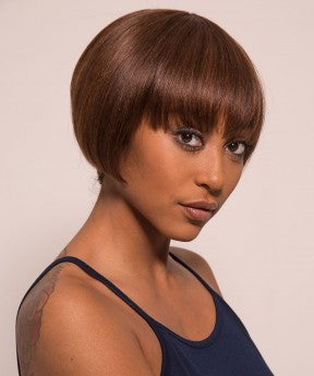 Pixie Cut Short Human Hair Wigs With Color 30 None Lace Cut Bob