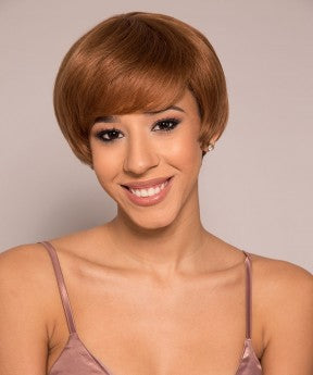 Pixie Wigs With Color 30 None Lace Cut Bob Front Wigs Short Human