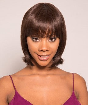 Pixie Wigs Color 2 None Lace Short Human Hair Pixie Wig